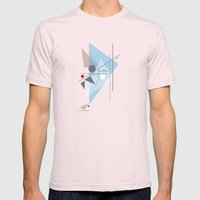 Everything Starts with a Dot Mens Fitted Tee Light Pink SMALL