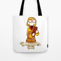 My log has something to tell you Tote Bag