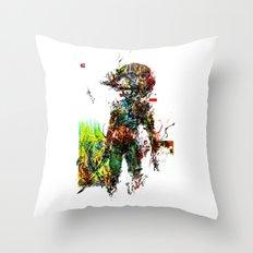 MGS Raiden Throw Pillow