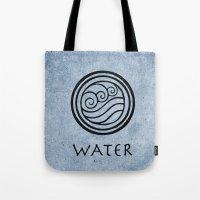 Avatar Last Airbender - Water Tote Bag