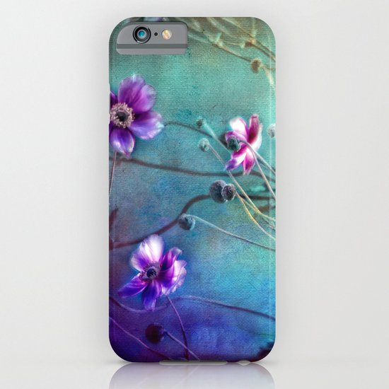 FLEURS DU PRÉ III - Wildflowers in painterly style iPhone & iPod Case