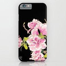 Heavenly Blossom on Black iPhone 6s Slim Case