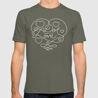 Do What You Love Mens Fitted Tee Lieutenant SMALL