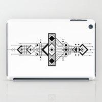 Geometric Device iPad Case