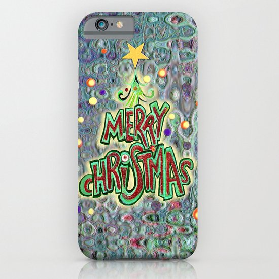 Merry Christmas iPhone & iPod Case