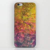 NEON MOUNTAINS / PATTERN SERIES 006 iPhone & iPod Skin