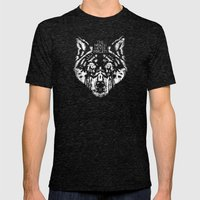 The North Never Forgets Mens Fitted Tee Tri-Black SMALL