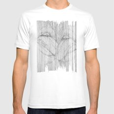 play your part SMALL White Mens Fitted Tee