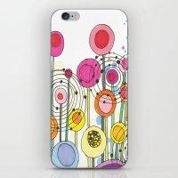 Lollipop Flowers iPhone & iPod Skin