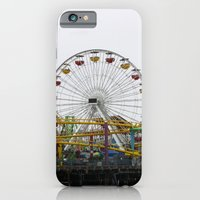 iPhone & iPod Case featuring Santa Monica Pier by Kristi Jacobsen Photography