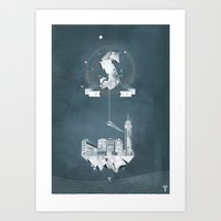 Sick (logo) Art Print