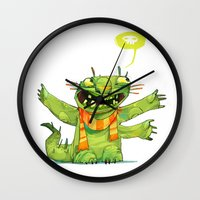 Huggs Wall Clock