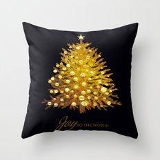 CHRISTMAS-Starry tree Throw Pillow