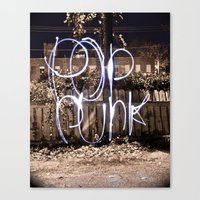 Pop Punk Canvas Print