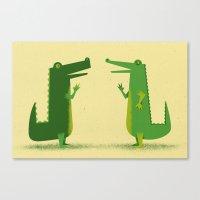 Later Gators Canvas Print