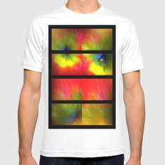 Flower apple explosion White Mens Fitted Tee SMALL
