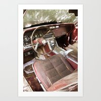 Thunderbird Interior Art Print