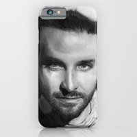 iPhone & iPod Case featuring Bradley Cooper Traditional Portrait Print by bianca.ferrando