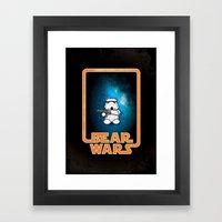 Bear Wars - Bear Trooper Framed Art Print