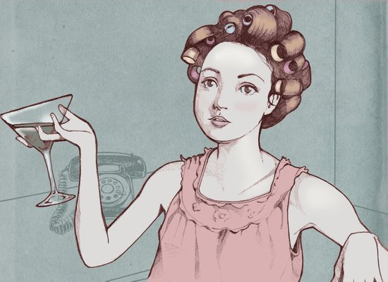 The Housewife  Art Print