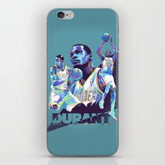 Kevin Durant NBA Illustration serie 1 of 3 iPhone & iPod Skin