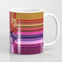 Purplish-Red And Gold Co… Mug