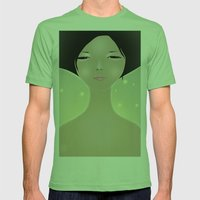 women Mens Fitted Tee Grass SMALL