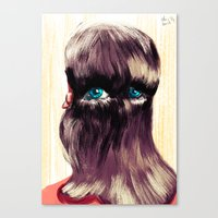Do You Have Eyes? I Have… Canvas Print