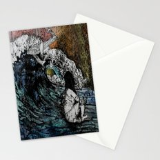Crawled Out of the Sea  Stationery Cards
