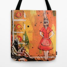By Your Side Tote Bag