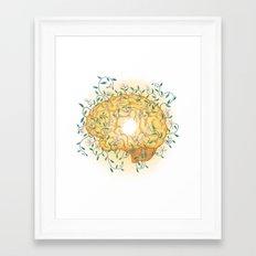 Gratitude Grows Framed Art Print