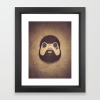 The Gamer Framed Art Print