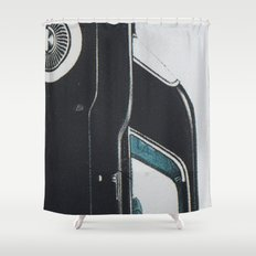 Continental mark II Shower Curtain