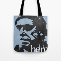 Charles Bukowski - hero. Tote Bag