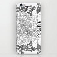 Charlotte Map iPhone & iPod Skin