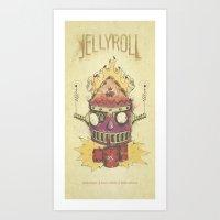Jellyroll #9: Caos Art Print