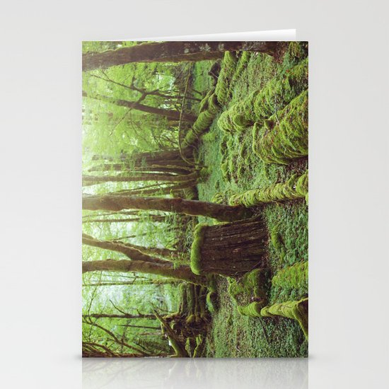 Mossy Forest Stationery Card
