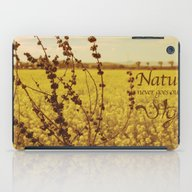 Mustard Plant iPad Case