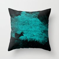 Patronus In A Dream Throw Pillow