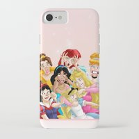 lady iPhone & iPod Cases featuring Smile for the Camera by Brianna