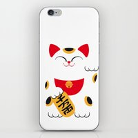 Japan Serie 4 - MANEKI N… iPhone & iPod Skin