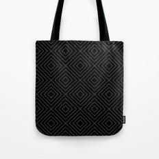 Black Squares Tote Bag