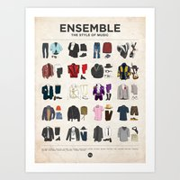 Ensemble Art Print