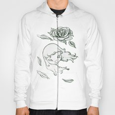 Rose in the wind Hoody