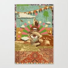 AFTERNOON PSYCHEDELIA Canvas Print