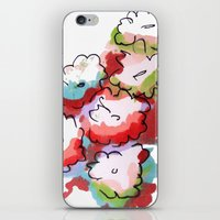 Saturated Flowers iPhone & iPod Skin