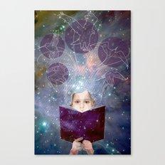 Project Books! Canvas Print