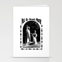 Not by Bread Alone Stationery Cards