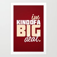 Anchorman Quote Art Print
