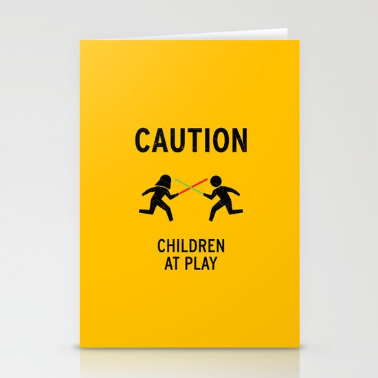 Children at Play Stationery Card
